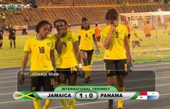 Goalll: Reggae Girlz 1-0 Panama